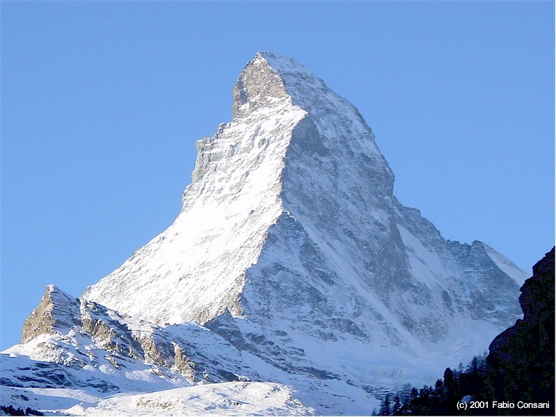 The Matterhorn.  Not pictured:  Italian Grappa